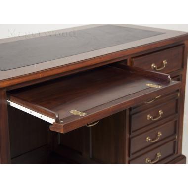 12218 BROWN Компьютерный стол из массива