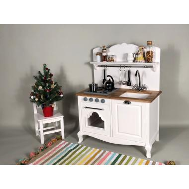 Детская кухня Белый шифон, размер М