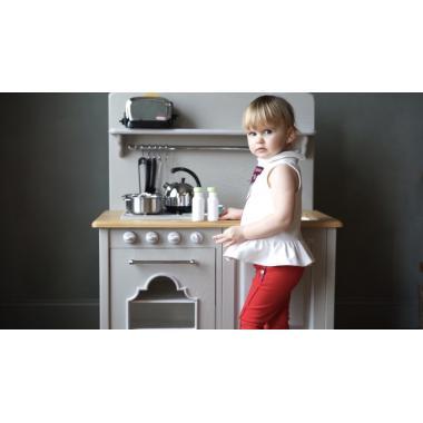 Детская кухня M с функцией ГАЗ, Серое облако